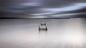 Klicken Sie auf das Bild des Tages im Fotoportal: Winter am Meer – © VDNOpa - Steinhuder Meer