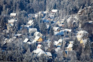Klicken Sie auf das Bild des Tages im Fotoportal: Winterzeit – © VDNDieter Weise – Zittauer Gebirge