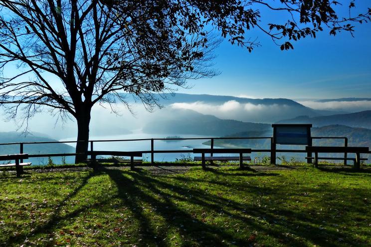 als der Nebel sich  lichtete – © VDNbaude - Deutsch-Belgischer Naturpark Hohes Venn - Eifel