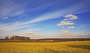 Klicken Sie auf das Bild des Tages im Fotoportal: farbiger Ausklang – © VDNwerner voss - Elbhöhen-Wendland