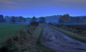 Klicken Sie auf das Bild des Tages im Fotoportal: nach Sonnenuntergang 1 – © VDNwerner voss - Elbhöhen-Wendland