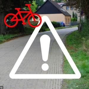 Verkehrshinweis Hofjagdweg (© NABU Bildarchiv)