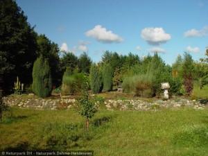 Heidegarten im Biogarten Prieros (© Naturpark Dahme-Heideseen)