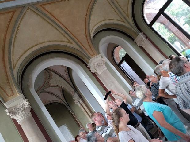 Denkmaltag kaiserbahnhof halbe 620x465 Ein Maulbeerbaum für die Dankeskirche Halbe