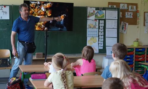 Elisabeth von Schlieben Grundschule Halbe Foto 1 Heidrun Voigt Beitrag Naturpark Schule in Halbe