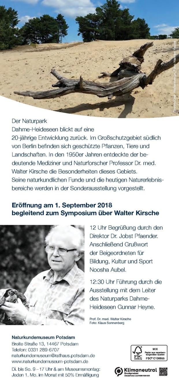 Flyer Dahme Heideseen WEB 2 620x1329 Ausstellungseröffnung Vom Glück die Natur zu entdecken im Naturkundemuseum Potsdam