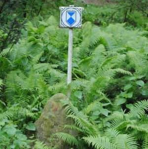 Gedenkstein an der Springseequelle Foto: H. Sonnenberg