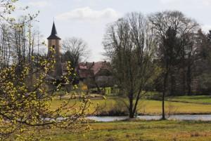 Blick über die Dahme auf Märkisch Buchholz