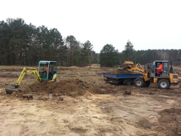 Plaggen Duene web4 620x465 Auf der Binnendüne wird der Sand freigelegt