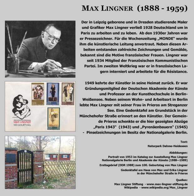 Tafel Max Lingner Tafel geschnitten 620x626 Ausgestellt   Grafiken von Max Lingner im Prieroser Heimathaus
