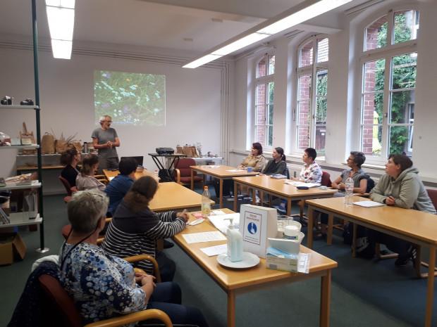 Vortrag 620x465 Fortbildungsmaßnahmen für Kitas und Schulen aus dem Naturpark