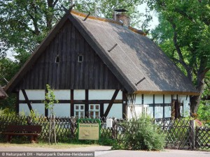 Heimathaus in Prieros (Archiv naturpark Dahme-Heideseen)
