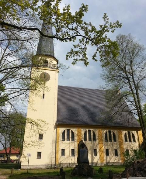klein christuskirche Farbiger Denkmaltag am 14. September in Groß Köris