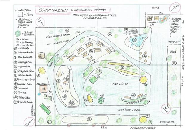 schulgarten prieros 620x438 Prieroser Schule gewinnt Schulgartenwettbewerb
