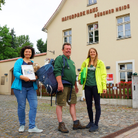 NaturparkHaus in Bad Düben ist Ausleihstation für den Wildkatzenrucksack (C) Verein Dübener Heide e.V.