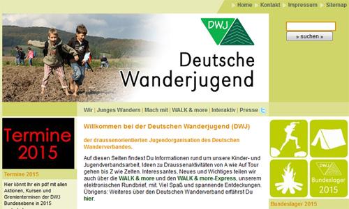 0019 Deutsche Wanderjugend lädt Heidefreunde zu Bundeslager 2015 ein