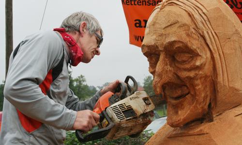 2103 Fest Kunst mit Kettensägen steigt am 26. und 27. Juli im Naturpark Dübener Heide