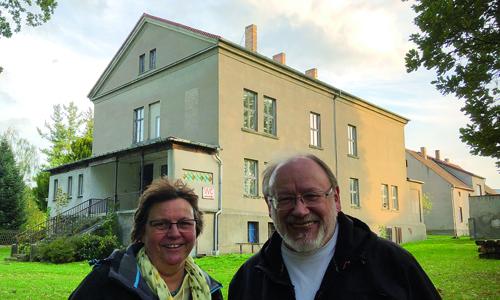 3209 EU Förderprogramm LEADER: Altes Gutshaus in Roitzsch wird saniert