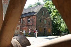 Die Obermühle in Bad Düben im Museumsdorf Dübener Heide im Naturpark Dübener Heide (C) VDH