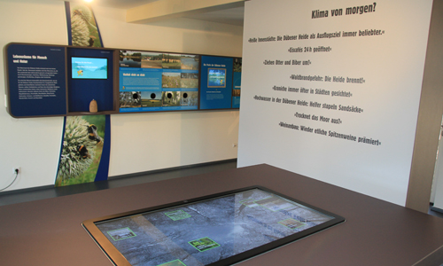 3833 Neue Ausstellung Klimawandel   hier und anderswo im NaturparkHaus