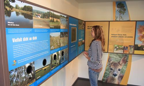 38471 Neuer Rekord:  NaturparkHaus der Dübener Heide zählte 2014 über 12.000 Besucher