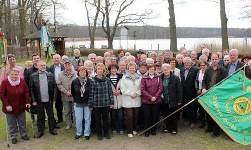 4852b 25 Jahre Verein Dübener Heide e.V. –  Mitglieder erhalten die Goldene Ehrennadel