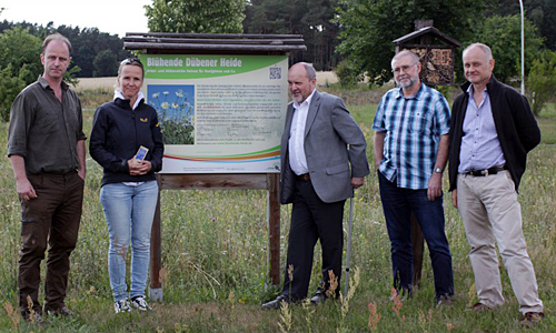 5779 Steffi Lemke besuchte den Naturpark Dübener Heide