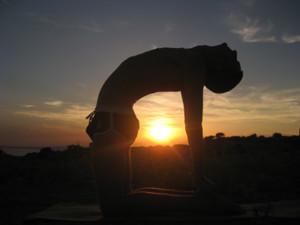 Fit und gesund mit Yoga.