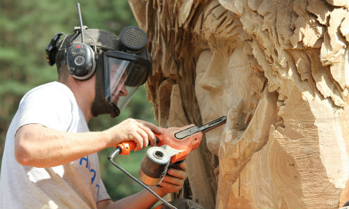 8907 Reminder: 20. Holzskulpturenwettbewerb im Heidedorf Tornau
