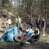 Aktion im Stadtwald GHC_RegioCrowd (C) Axel Mitzka