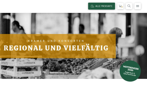 """Augenlust und Gaumenfreude 500 """"Augenlust und Gaumenfreude"""": Wettbewerb für Hersteller regionaler Produkte gestartet"""