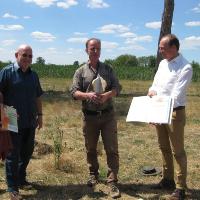 Axel Mitzka freut sich über Auszeichnung von RegioCrowd (C) VDH