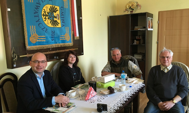 Beim Bürgermeister Foto VDH 620x372 Unterwegs im Dreiländer Biosphärenreservat