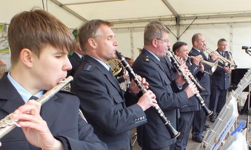 Blasmusikformation 2 Ein Tag für die ganze Familie: Naturparkfest am 3. Mai an der Friedrichshütte