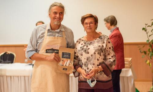 """Christian Kaiser u Gudrun Engler vom Heideverein 500 Wettbewerb """"Augenlust und Gaumenfreude"""" in der Dübener Heide: Das sind die Gewinner"""