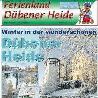 Cover der letzten Ausgabe des Gästemagazins Ferienland Dübener Heide