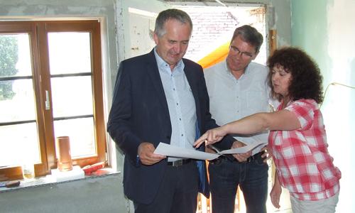 DSCF3542 1 Staatsminister Schmidt besucht LEADER Region Dübener Heide
