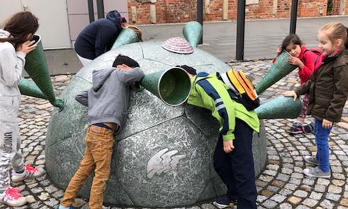 DaZ GS Eilenburg Natur erleben verbindet 500 300 VDN Projekt Natur erleben verbindet mit Kindern der Grundschule Eilenburg Berg
