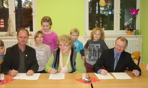 Doberschütz beitrag Grundschule in Doberschütz will Sachsens erste Naturpark Schule werden