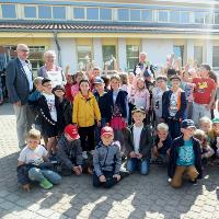 Eilenburg Berg ist Naturparkschule (C) GS Eilenburg Berg
