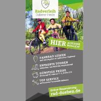 Flyer Radverleih Fahrrad Hammer