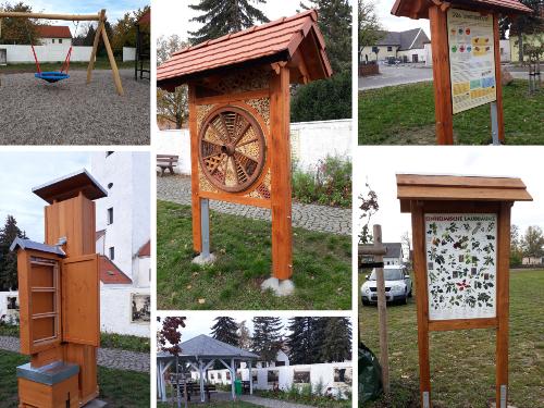Fotocollage Langenreichenbach 500 Schönere Begegnung in Langenreichenbach dank Förderung durch das Regionalbudget