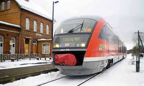 Heide Bahn Erstes Adventswochenende: Heide Bahn pendelt zwischen Wittenberg und Leipzig