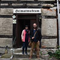 """Dr. Stefanie Meier-Kaftan und Martin Müller betreuen das Projekt Dübener Heide - Heimat erforschen und gemeinsam erleben"""" (C) privat"""