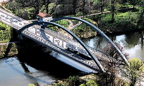 IMG 0770 Die Brücke   neue Ausstellung im NaturparkHaus der Dübener Heide