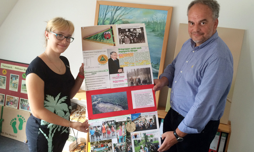 IMG 1067 n Verstärkung im NaturparkHaus und neue Ausstellung zu 25 Jahre Heideverein