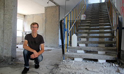 IMG 6669 Jungunternehmer  investiert in Laußigs  alten Kindergarten