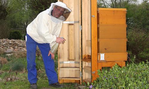 IMG 9185 Fachzeitschrift würdigt Bienen Projekt im Naturpark