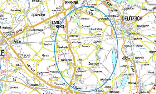 Karte Feldhamster 500 Bedrohte Tierart: 50 Euro Finderlohn für jeden Feldhamsterbau