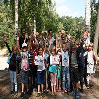 Klassenfahrt Naturpark Dübener Heide